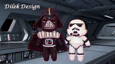 Häkelanleitung+Star+Wars+Darth+Vader+Stormtrooper+von+Dileks+Magic+Box+auf+DaWanda.com