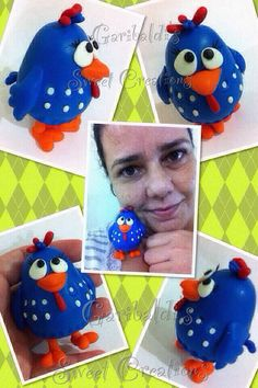 Galinha Pitadinha - Garibaldi's Sweet Creations (Biscuit - cold clay, Polymer clay, Fimo)
