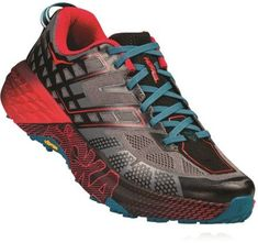 Designed for fast-moving forays on all kinds of technical trails, the men's HOKA ONE ONE Speedgoat 2 trail-running shoes offer go-everywhere, run-everything durability and stability. Best Trail Running Shoes, Black Running Shoes, Trail Shoes, Running Gear, Hoka One One, Urban Outfitters, Peep Toe, Shoe Sites, Latest Shoe Trends
