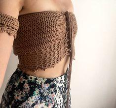 Crochet Crop Top, Crochet Bikini, African Swimwear, Crochet Lingerie, Yarn Ball, Crochet Woman, Crop Blouse, Crochet Clothes, High Waisted Shorts