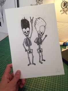 Beavis & butthead Bones