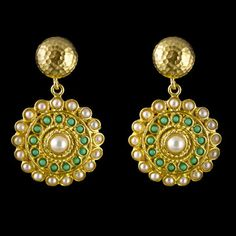 Dot Dot Dot Earrings, $29, now featured on Fab. Love these!!!