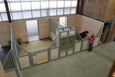Schwalbenhof stable and indoor arena renovation - design by Equine Facility Design