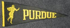Vintage 1940's Purdue University Football by AntiqueSportsShop