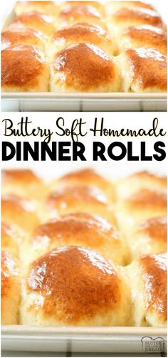 Easy Dinner Roll recipe perfect for procrastinators! Done in just over an hour, … Easy Dinner Roll recipe perfect for procrastinators! Done in just over an hour, these buttery soft dinner rolls are the perfect addition to dinner. Best Dinner Roll Recipe, Quick Dinner Rolls, No Yeast Dinner Rolls, Sweet Roll Recipe, Dinner Rolls Recipe, Quick Rolls, Dinner Recipes, Easy Homemade Rolls, Easy Yeast Rolls