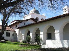 The Hacienda, Milipitas Ranchhouse, Monterey CA. built by Hearst.