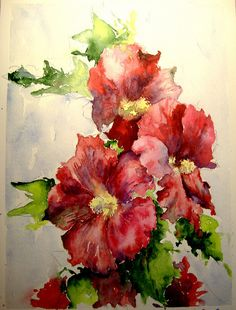 Oh My!! I love water color and this is one of the most beautiful!