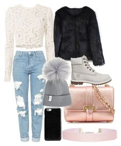 """Down-town restaurant😍🖤-dtz."" by andreea-cassandra on Polyvore featuring Topshop, Aspinal of London, Chicwish, A.L.C., Humble Chic, Timberland and Maison Margiela"