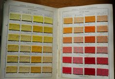 Fastusol Dyestuffs on Union Piece-Goods (ca.1920?) by the General Dyestuff Corporation #dyesamples