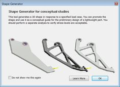 Inventor 2016 R2 - Welcome To Shape Generator
