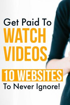 If you want to get paid to watch videos online, then you can surely join these 10 websites & apps. Make Money Now, Ways To Earn Money, Earn Money From Home, Earn Money Online, Online Jobs, Money Tips, Tips Online, Apps That Pay, Videos