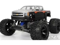 Pro-Line Racing 335700 Chevy Silverado 2500 HD Clear Body