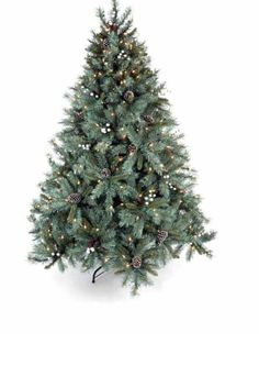 Christmas Tree's - Silver Berry 5 ft/6 ft/7 ft Christmas Tree