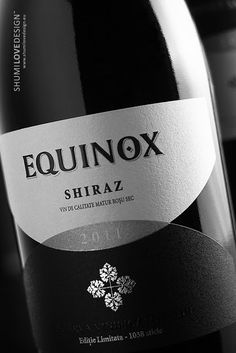 Equinox on Packaging of the World - Creative Package Design Gallery #taninotanino #vinos #maximum