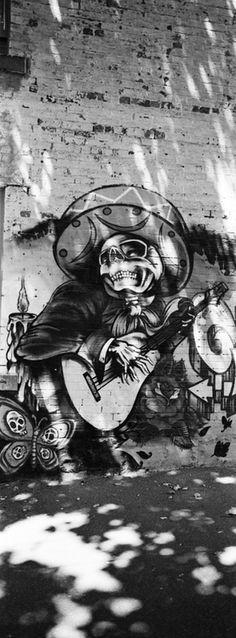 Graffiti in Melbourne, Australia.. .Unknown.. . #streetart