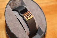 Fitbit bracelet / Fitbit Charge bracelet / Fitbit Charge HR cover - Greek pattern goldtone