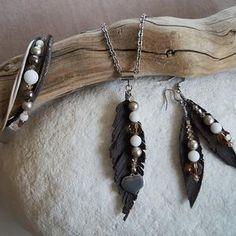 Drift Wood, Drop Earrings, Jewelry, Chocolate, Handarbeit, Jewlery, Jewerly, Driftwood, Schmuck
