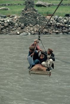 The river crossing . Afghanistan