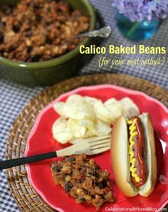 calico-baked-beans #summer #recipe #greatergrilling