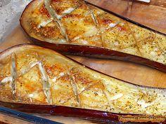 Vinete Umplute cu Branza Dulce, Iaurt si Ardei Copt 2 Jamie Oliver, Ethnic Recipes, Fine Dining