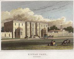 Murder at Kippax Hall, via All Things Georgian Georgian Era, West Yorkshire, Esquire, Taj Mahal, Places To Visit, Exterior, History, Architecture, Building