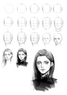 Artstation sketch practice seungyoon lee _ pencildrawingtutorials artstation sketch practice seungyoon lee _ paris cupcake toppers the decorated cookie cookie crafttodowhenbored cupcake decorated paris toppers Pencil Art Drawings, Realistic Drawings, Art Drawings Sketches, Art Illustrations, Pencil Sketching, Eye Drawings, Sketch Art, How To Sketch, Sketch Head