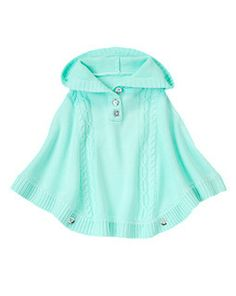 Hooded Sweater Poncho (Gymboree 3-12y)