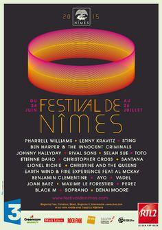 Passez l'été à #Nîmes en musique :) Chaque année, depuis 1997, le #festival de Nîmes transforme les #Arènes pour une série de #concerts en plein air... Découvrez la programmation 2015 ici : http://www.tourismegard.com/2/nimes/tabid/638/offreid/260e43b1-c2e7-4df6-92b3-b3ec3e0dbbf8/detail
