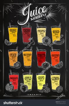 stock-vector-poster-juice-menu-with-glasses-of-different-juices-drawing-with-chalk-on-the-blackboard-307738538.jpg 1,049×1,600픽셀