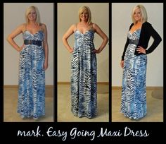 My mark. Easy Going Maxi Dress just arrived today. I LOVE it!! It is so versatile. Wear it as is, belted, or with a cardigan! Get your's before they SELL OUT... on sale for ONLY 14.99 at http://​nknaus.mymarkstore.com/!