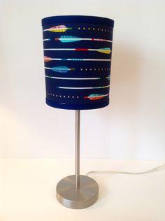 Tribal Arrow Navy Lamp Shade by LightningBugs on Etsy https://www.etsy.com/listing/233622827/tribal-arrow-navy-lamp-shade