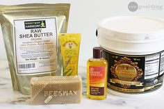 In-Shower Moisturizer.that I intend to just use as an after shower lotion and will sub cocoa butter for shea butter. Diy Shower, Shower Gel, Moisturizer For Dry Skin, Lotion Bars, Body Treatments, Beauty Recipe, Diy Skin Care, Organic Skin Care, Fun To Be One