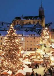 Mannheim Germany at Christmas 2008
