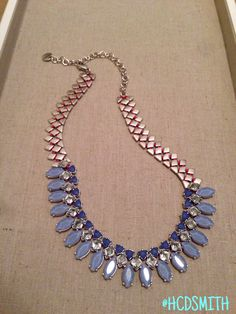 My new favourite...the Marina Necklace! Dress it up, or tone it down, this pretty periwinkle treasure is sure to turn a nice outfit into a styled 'n finished outfit! www.stelladot.com/hcdsmith #stelladot #sdjoy #stelladotstyle #shopwithhcdsmith