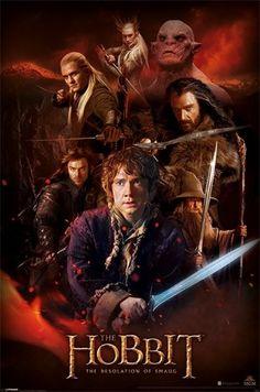 Hobbit: Pustkowie Smauga (Fire Montage) - plakat - 61x91,5 cm  Gdzie kupić? www.eplakaty.pl