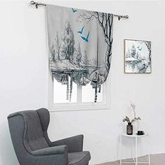 Soft Furnishings, House Design, Wallpaper, Curtains, Interior Decorating, Home Decor Decals, White Paneling, Curtains Bedroom, Home Decor