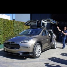 Tesla Model X. My next car. Tesla's cars look unbelievable, and I hope they continue with their success