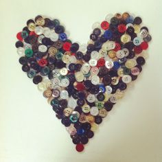 Assorted/ Mixed colour Buttons. Recycled, unpicked from the plackets of unwanted garments that are a waste by-product of the manufacturing process