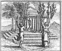 fable Jean de La Fontaine Philémon et Baucis