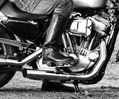 stivali Runnerbull stile biker moto - Runnerbull biker style boots live