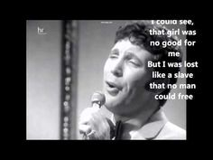 Tom Jones - Delilah (Lyrics on screen) (HD) An earlier pinning by me of a certain Tom Jones performance of Delilah has been become defunct owing to a YouTube uploader's having infringed copyright to publication of that particular performance of Delilah when he uploaded it. :(