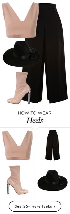 """""""Untitled #6420"""" by heynathalie on Polyvore featuring Proenza Schouler, T By Alexander Wang, Alexander McQueen and Zimmermann"""