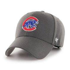 b399e143b04ec3 Chicago Cubs Charcoal Wool MVP Adjustable Cap by '47 #ChicagoCubs #Cubs  #EverybodyIN