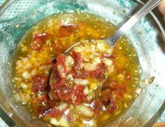 Vinagreta de Tomates Secos - Mi bloguico de Cocina