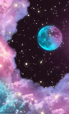 Moon Glitter GIF - Moon Glitter - Discover & Share GIFs