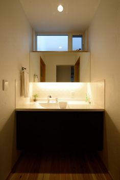 間接照明が美しい洗面  #洗面 #シンプル #igstylehouse #アイジースタイルハウス