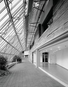 LKH Feldkirch  General purpose building regional hospital Feldkirch, Austria, 1992 - 1993 Lehm Ton Erde - Martin Rauch