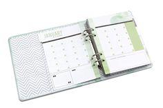 Capture Watercolor Binder + Kit at Mini Scrapbooks, Agenda Planner, Heidi Swapp, Studio Calico, Filofax, Project Life, Binder, Planners, Journaling