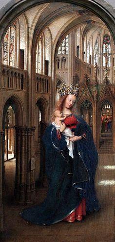 Jan van Eyck - The Madonna in the Church