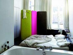 Biombo em cores vivas cores para elevar o espírito
